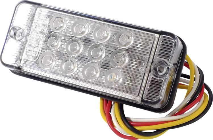 LED Aanhangerachterlicht Knipperlicht. Remlicht. Achterlicht links. rechts 12 V. 24 V SecoRut Helder glas