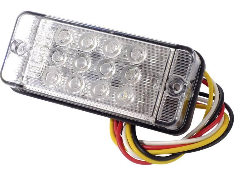 LED Aanhangerachterlicht Knipperlicht, Remlicht, Achterlicht links, rechts 12 V, 24 V SecoRüt Helder glas