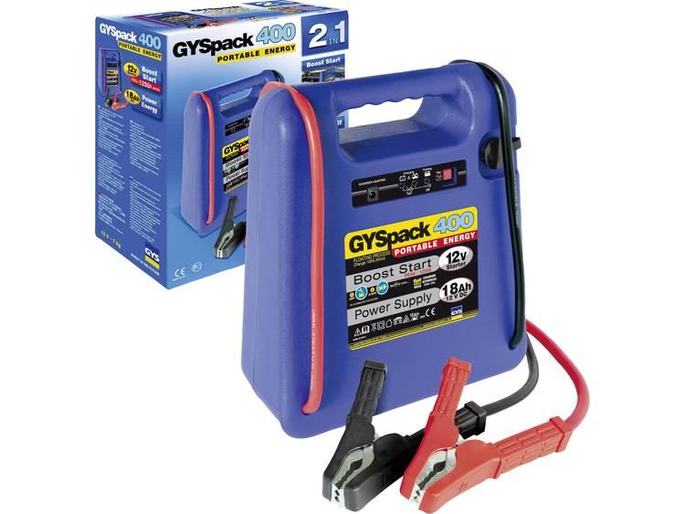 GYS PACK 400 025455 Snelstartsysteem Starthulpstroom 480 A