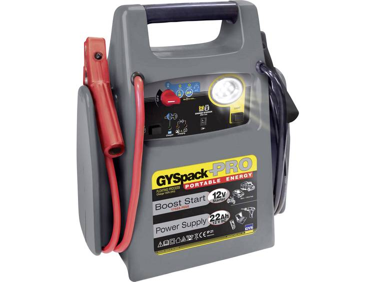 GYS PACK PRO 026155 Snelstartsysteem Starthulpstroom 600 A