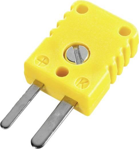 B+B Thermo-Technik THERMO-/FLACHSTECKER Thermostekker (plat) 0.5 mm² Geel 1 stuks