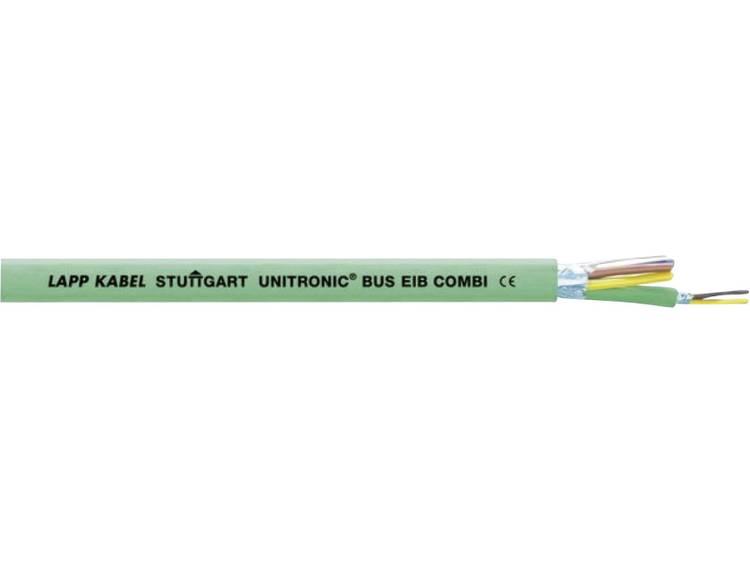 Buskabel UNITRONIC® BUS 2 x 2 x 0.80 mm² 3 x 1.50 mm² Groen LAPP 2170242 100 m