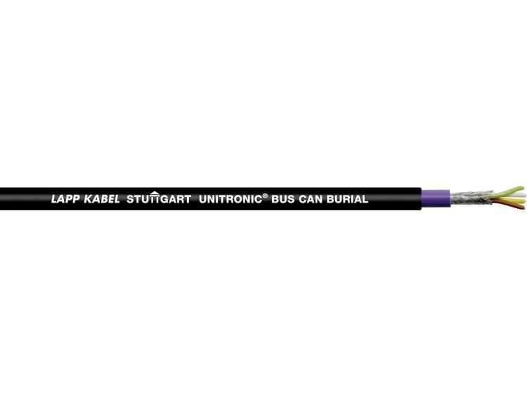 Buskabel 4 x 0.50 mm² Zwart LAPP 2170500 500 m