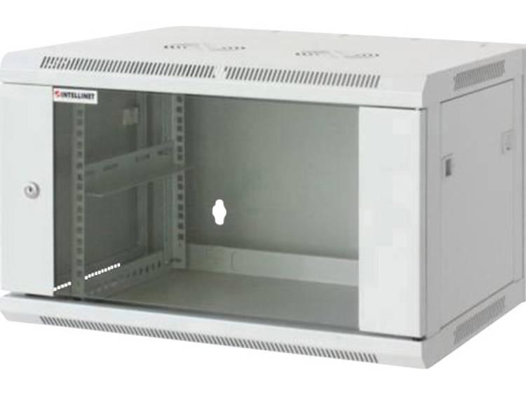 19 inch wandkast Intellinet 711722 (b x h x d) 570 x 370 x 450 mm 6 HE Lichtgrijs (RAL 7035)