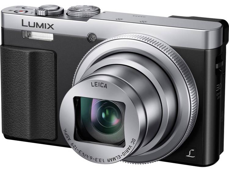Panasonic DMC-TZ71EG-S Digitale camera 12.1 Mpix Zoom optisch: 30 x Zilver Behuizing (body), incl. accu WiFi kopen