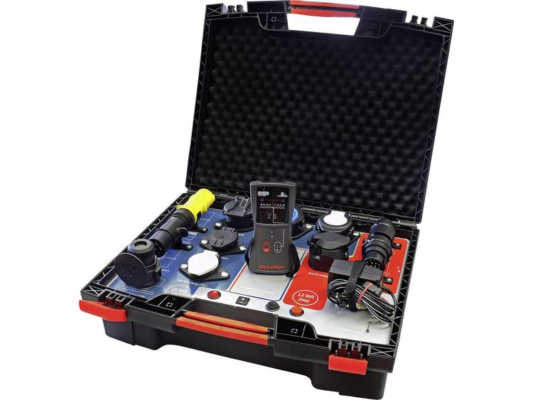 Profi aanhangertestkoffer 12 24 Volt 12 V, 24 V SecoRüt Wireless ControlCase 40410