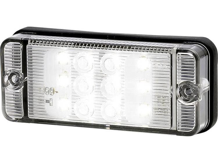 Hoog vermogen LEDs Achteruitrijlicht Achteruitrijlicht achter 12 V, 24 V Wit SecoRüt Helder glas