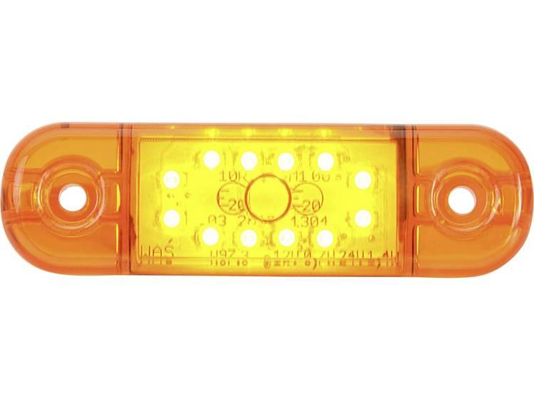Hoog vermogen LEDs Markeringslicht Markeringslicht zijkant 12 V, 24 V Oranje SecoRüt Helder glas