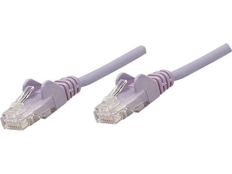 Netwerkkabel RJ45 CAT 6 S/FTP 7.5 m Lila Intellinet