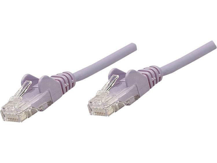 Netwerkkabel RJ45 CAT 5e U/UTP 15 m Lila Intellinet