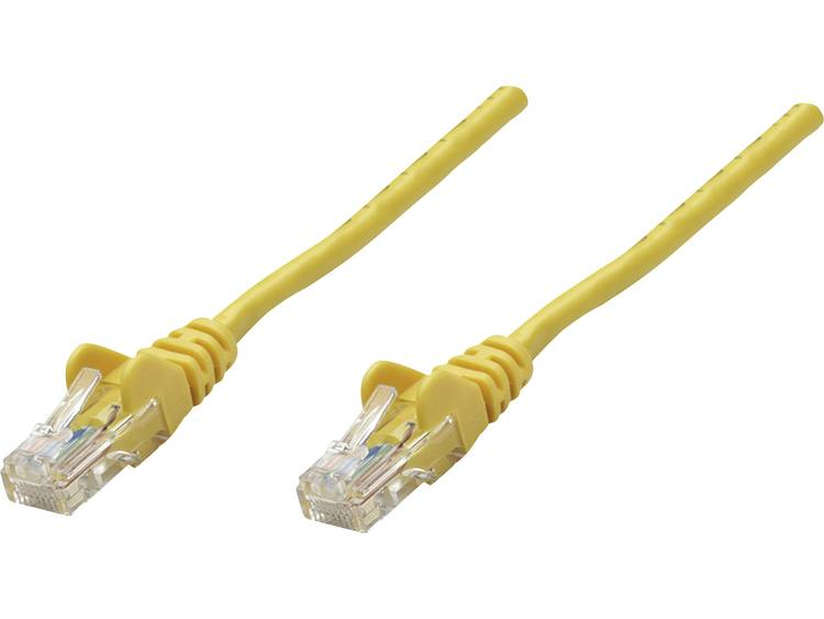 Netwerkkabel RJ45 CAT 5e F/UTP 1 m Geel Intellinet
