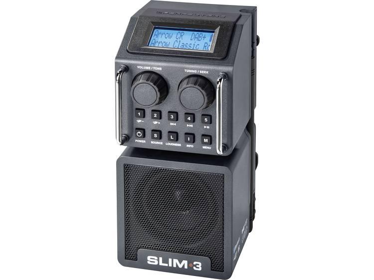 PerfectPro Slim 3 Bouwradio DAB+, FM AUX, Bluetooth, SD, USB Stofvast, Spatwater