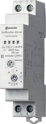 Conrad Components CMFD-500W Dimmer voor DIN-rail 1 stuks Voedingsspanning (num):230 V/AC