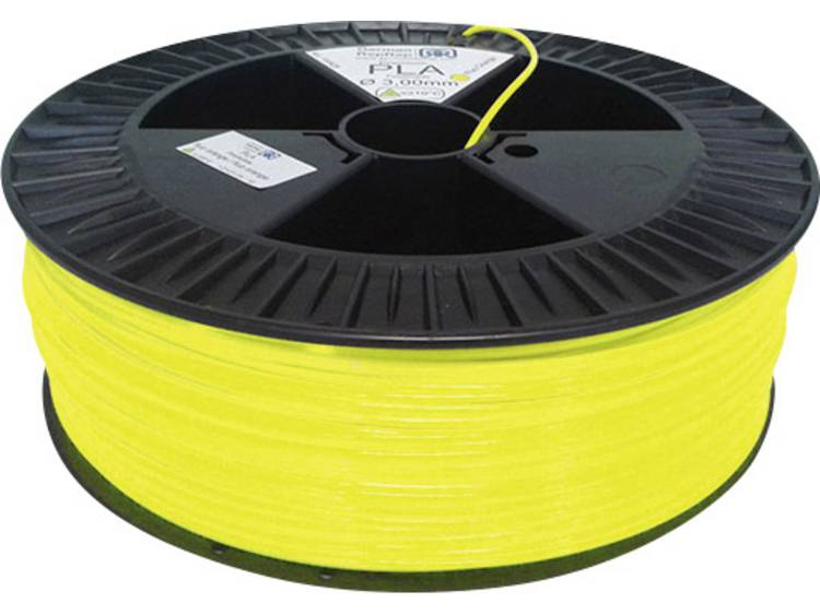 German RepRap ABS Filament 2.1kg 3mm lumin yellow (100265)