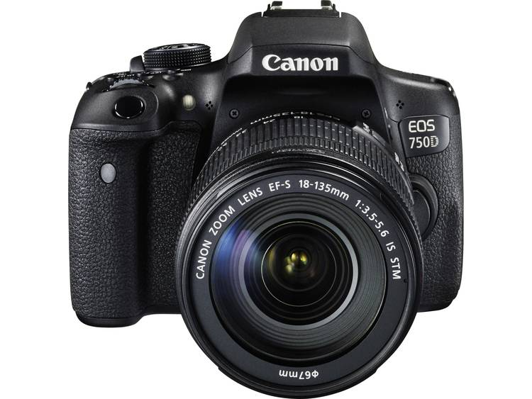 EOS 750D Kit + 18-135 IS STM