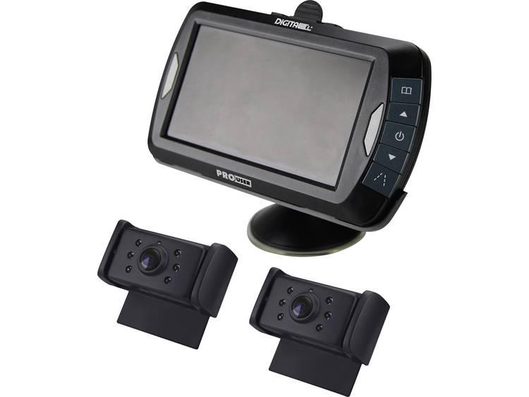 ProUser Draadloos achteruitrijcamera systeem DRC4320 Zuignaphouder