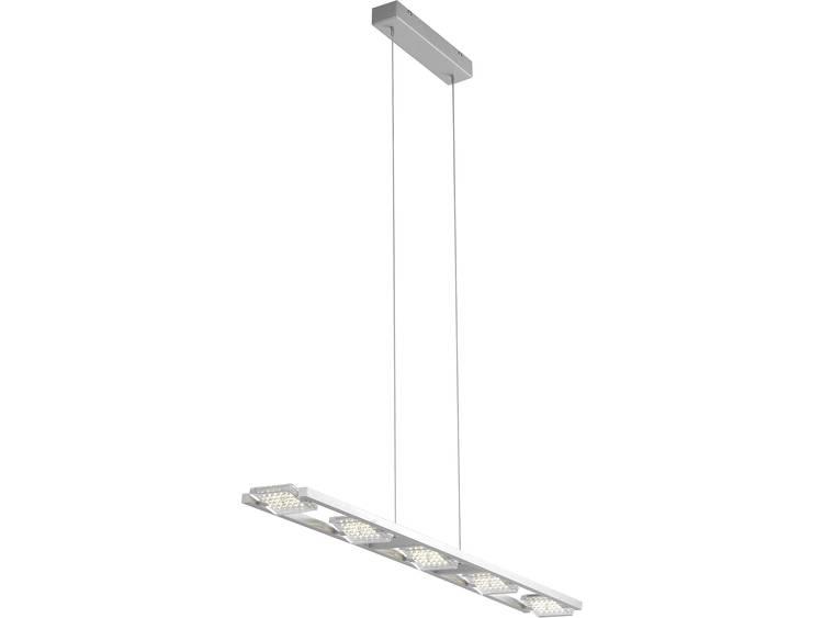 LED-pendellamp 20 W Energielabel: LED Warm-wit Paul Neuhaus Futura 2341-55 Staal