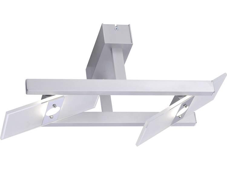 LED-plafondspot 9.6 W Warmwit Paul Neuhaus Pukka 8001-95 Aluminium
