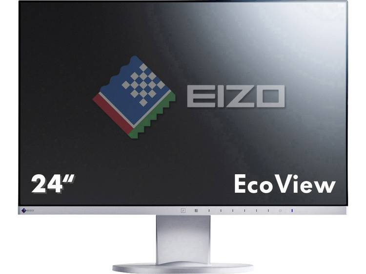 LED-monitor 60.5 cm (23.8 inch) EIZO EV2450-GY Energielabel A+ 1920 x 1080 pix Full HD 5 ms DisplayPort, HDMI, DVI, VGA IPS LED