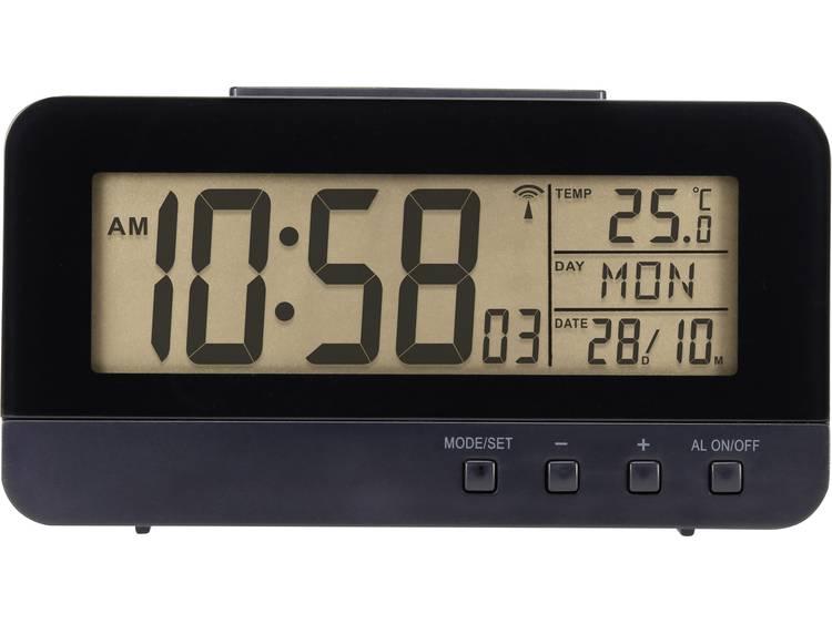 Renkforce KW 9281 Wekker Zendergestuurd Zwart Alarmtijden 1