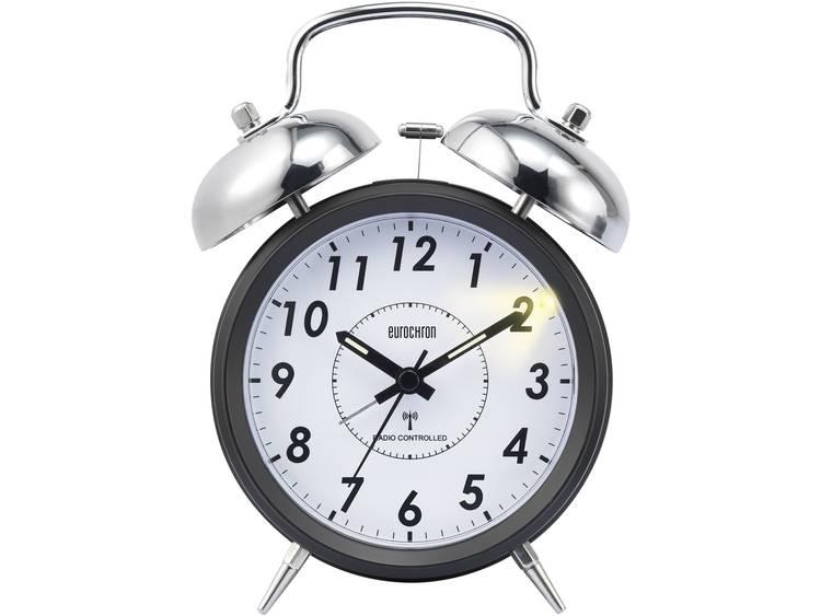 Zendergestuurd Wekker Eurochron EFWG Zwart Alarmtijden 1