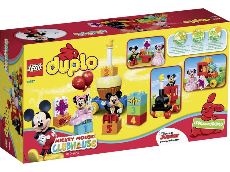 LEGO Duplo Mickey & Minnie Verjaardagsoptocht 10597