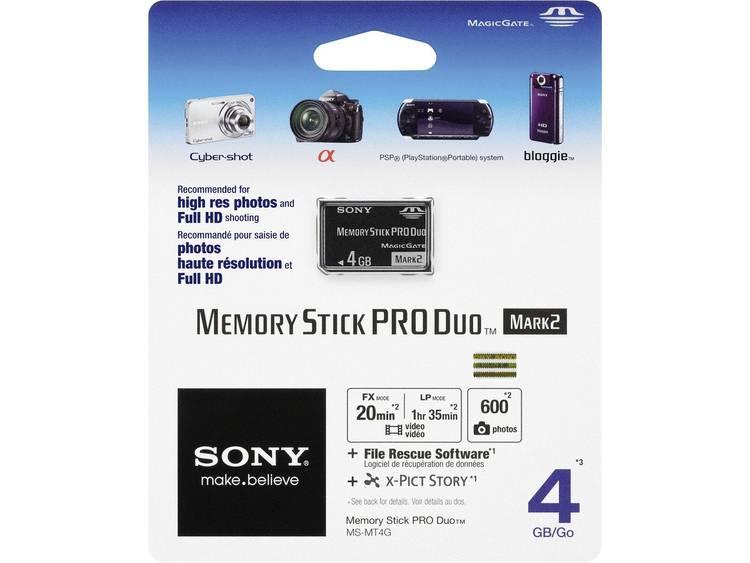 Sony Pro Duo 4 GB Memorystick PRO Duo-kaart