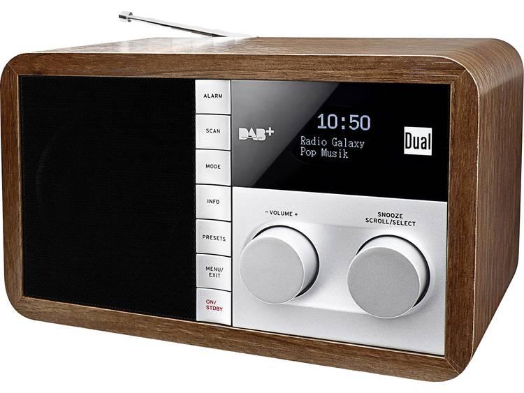 Dual DAB 32 DAB+ Tafelradio AUX, DAB+, FM Hout