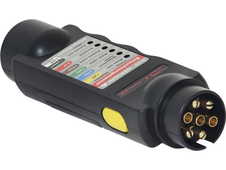 Verlichting Tester voor trailer stopcontact en plug 12 V DINO 130081