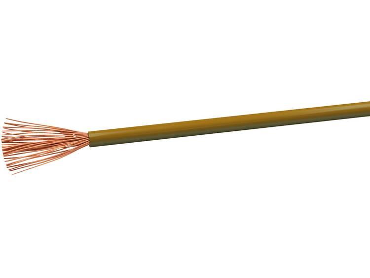 VOKA Kabelwerk H07VK25BR Geïsoleerde kabel H07V-K 1 x 2.50 mm² Bruin 100 m