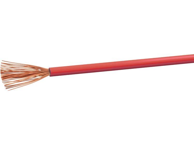 VOKA Kabelwerk H07VK4RT Geïsoleerde kabel H07V-K 1 x 4 mm² Rood 100 m
