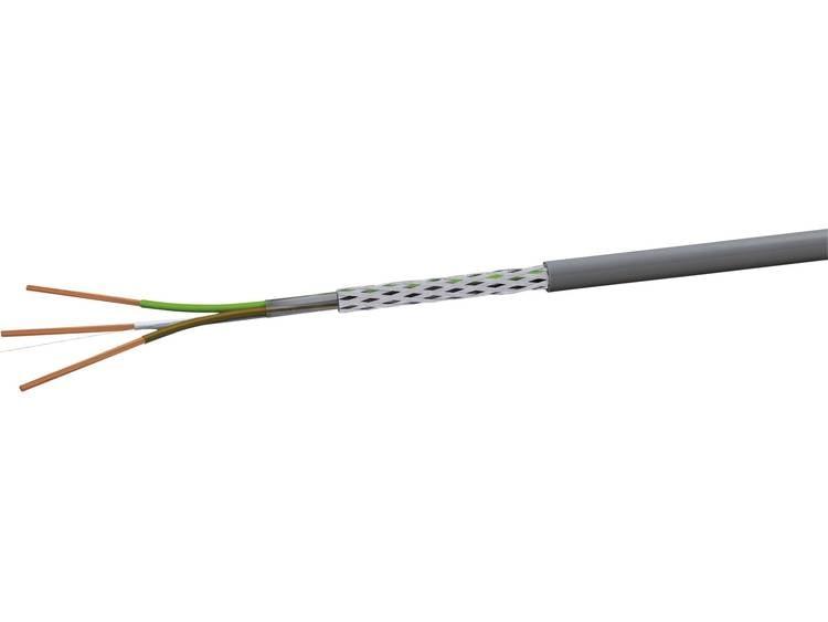 VOKA Kabelwerk LiYCY Stuurkabel 4 x 0.50 mm² Grijs RAL 7001 LIYCY4X05 100 m