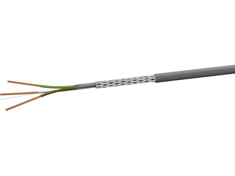 VOKA Kabelwerk LiYCY Stuurkabel 2 x 0.25 mm² Grijs RAL 7001 LIYCY2X025 100 m