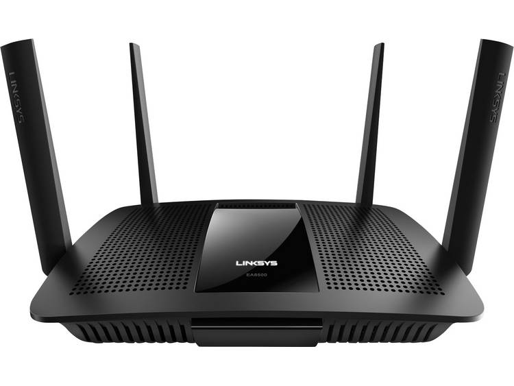 WiFi router Linksys MAX-STREAM Multi-User MU-MIMO EA8500 5 GHz, 2.4 GHz 2.6 Gbit/s