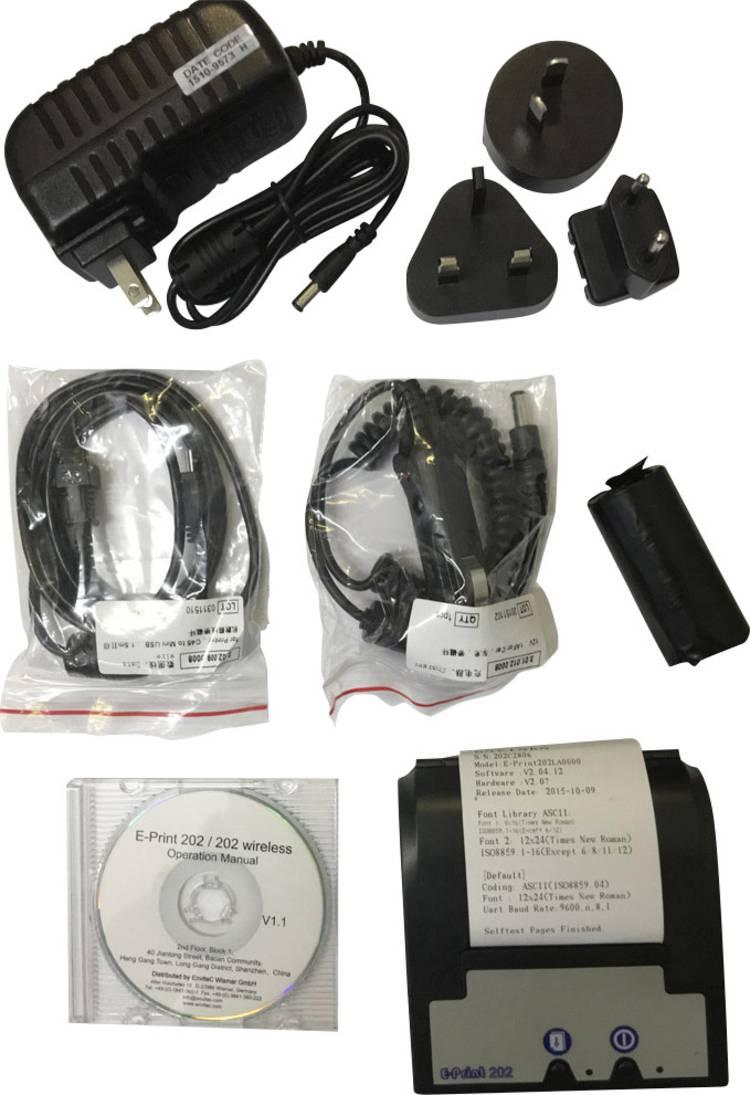 Envitec by Honeywell AlcoQuant 6020   6020 Plus Printer voor alcoholtester Zwart