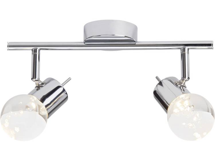 LED-plafondspot 9.2 W Warmwit Brilliant Lastra G38113-15 Chroom