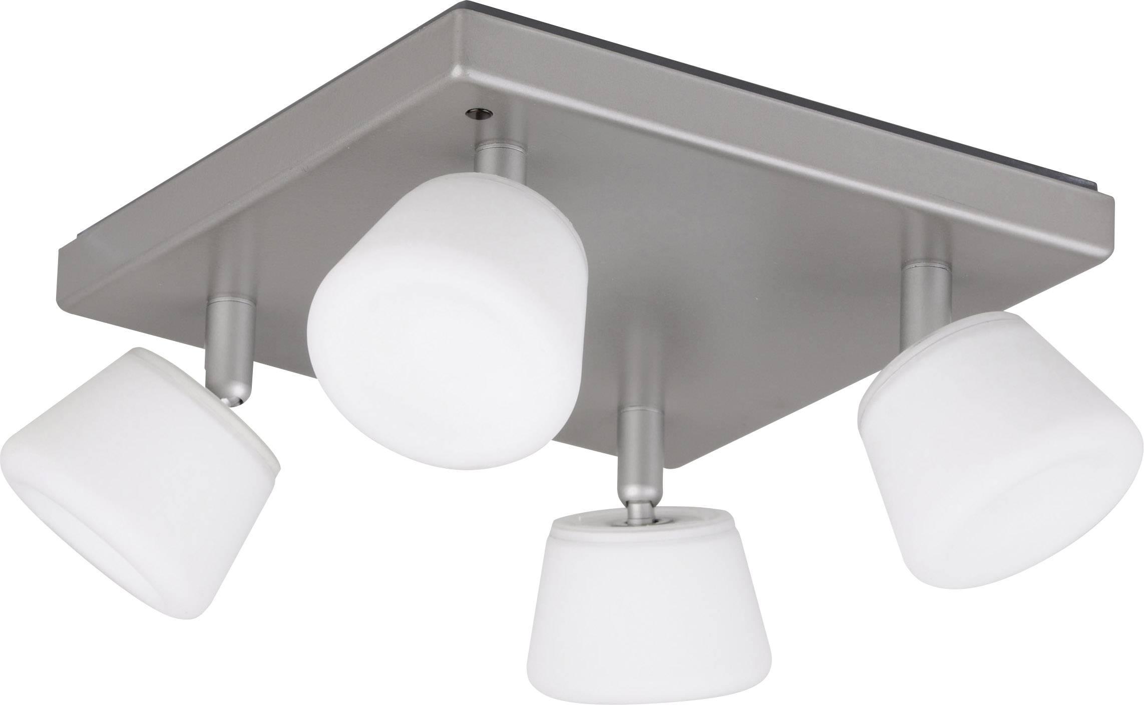 LED-plafondspot 24 W RGB JEDI Lighting Emerald JE23949 Grijs | Conrad.nl