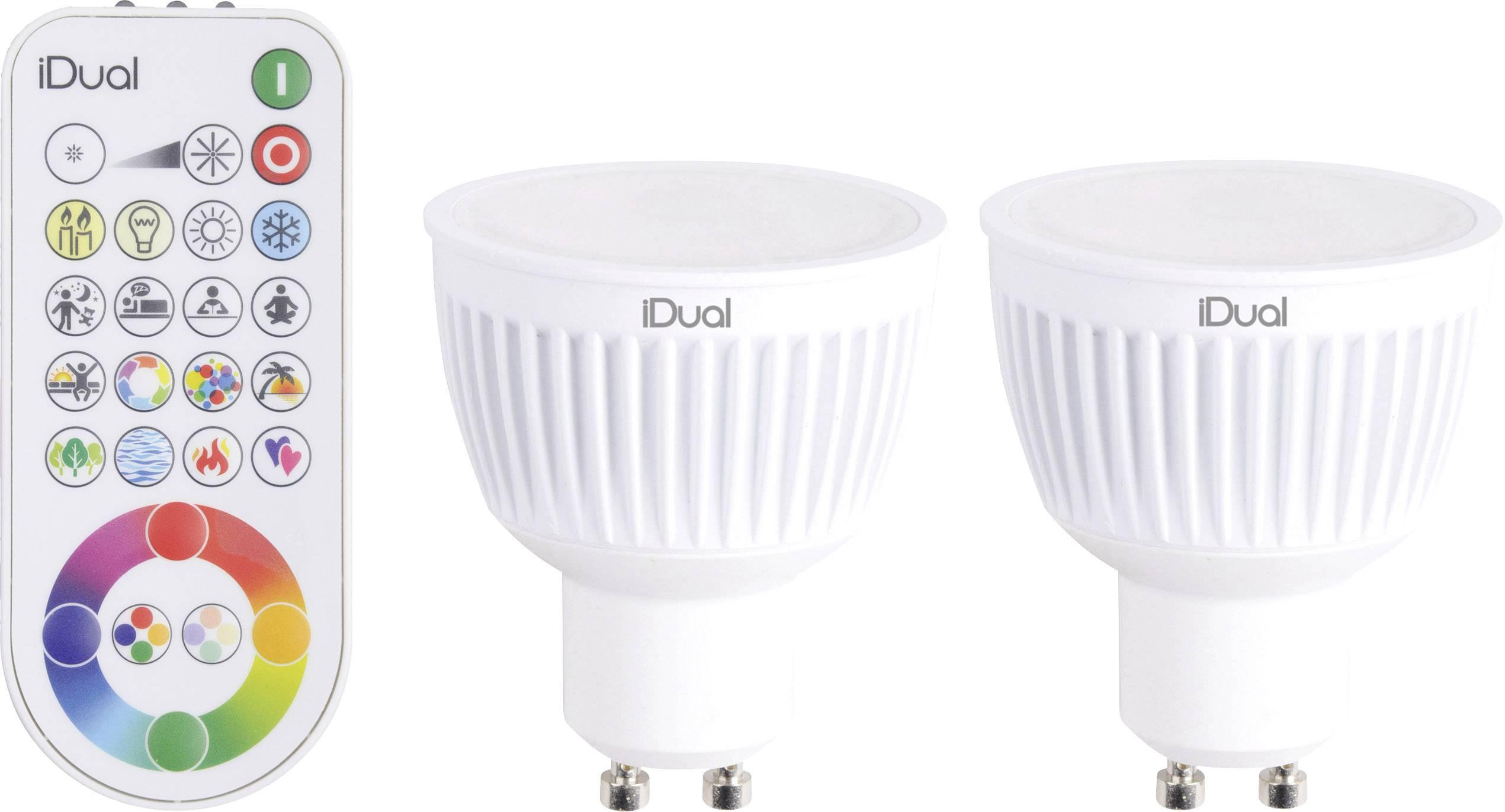 JEDI Lighting LED-lamp GU10 Reflector 7 W = 35 W RGBW Energielabel ...