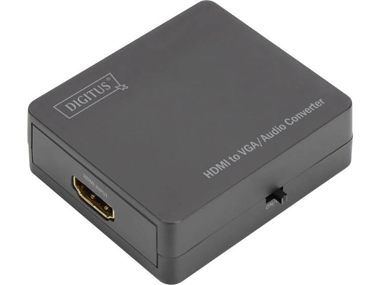Digitus AV Converter DS-40310-1 [HDMI - VGA, Jackplug] 1024 x 768 pix