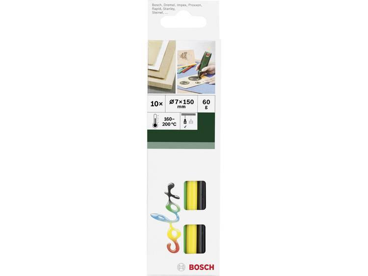 Bosch Smeltlijmsticks Ø 7 mm 150 mm Veelkleurig gesorteerd 2609256D30 10 stuks