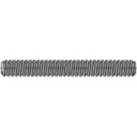 Draadeind M12 1000 mm Staal galvanisch verzinkt TOOLCRAFT 134956 1 stuks