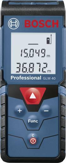 Laserafstandsmeter Bosch Professional GLM 40 Meetbereik (max.) 40 m Kalibratie mogelijk: Zonder certificaat
