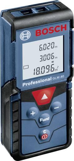 Bosch Professional GLM 40 Laserafstandsmeter Meetbereik (max.) 40 m Kalibratie: Zonder certificaat
