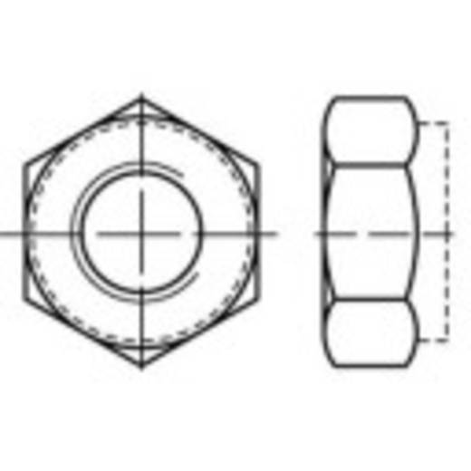 Borgmoeren M12 DIN 980 Staal galvanisch verzinkt, geel gechromateerd 100 stuks TOOLCRAFT 135129