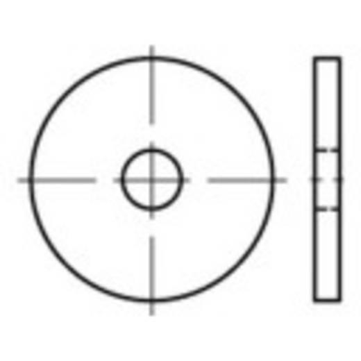 TOOLCRAFT Schijven DIN 1052 staal 50 stuks