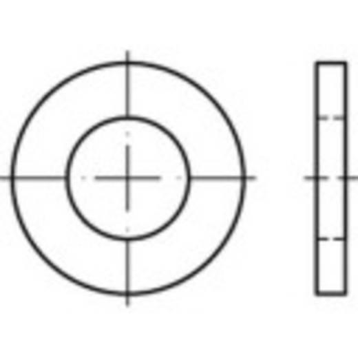 TOOLCRAFT 135788 Onderlegringen Binnendiameter: 22 mm DIN 1440 Staal galvanisch verzinkt 100 stuks