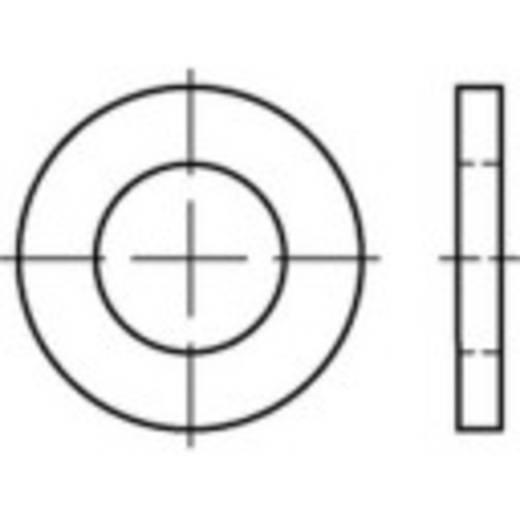 TOOLCRAFT 135879 Onderlegringen Binnendiameter: 72 mm DIN 1441 Staal galvanisch verzinkt 10 stuks
