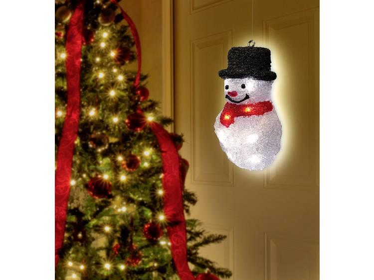 Polarlite LBA-52-006 Raamdecoratie Sneeuwman LED Bont