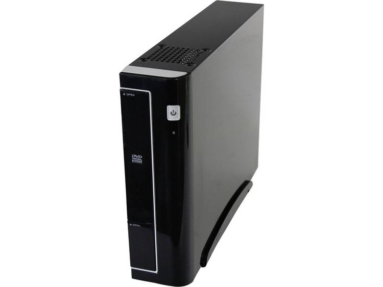 Joy-it Silent Business 5000 Midi-Tower PC AMD A4 A4-5000 4 GB 120 GB SSD Zonder besturingssysteem AMD Radeon HD8330