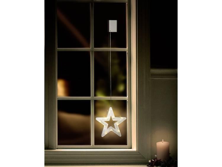 Polarlite LBA-50-019 Raamdecoratie Ster LED Transparant